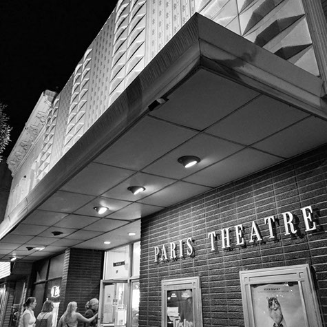 About The Paris Theater